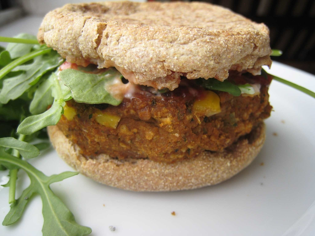 Chipotle Chickpea Veggie Burgers - Not Your Ho Hum Patties - Homemade ...