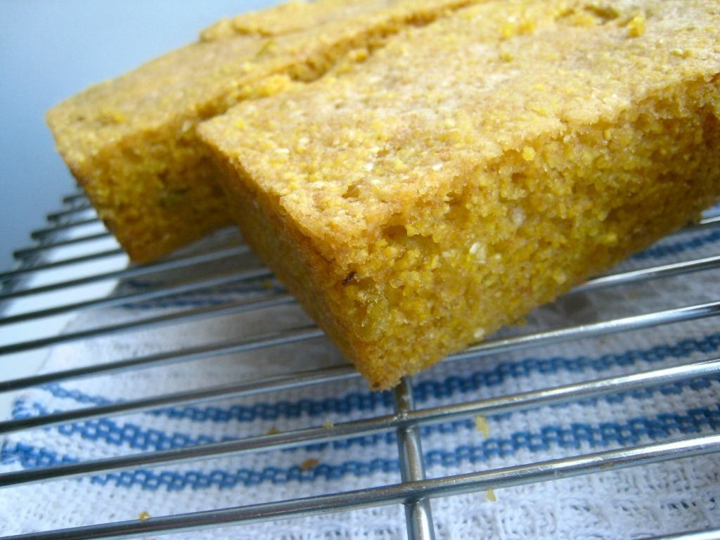 Vegan Cornbread with Green Chiles - Homemade Levity