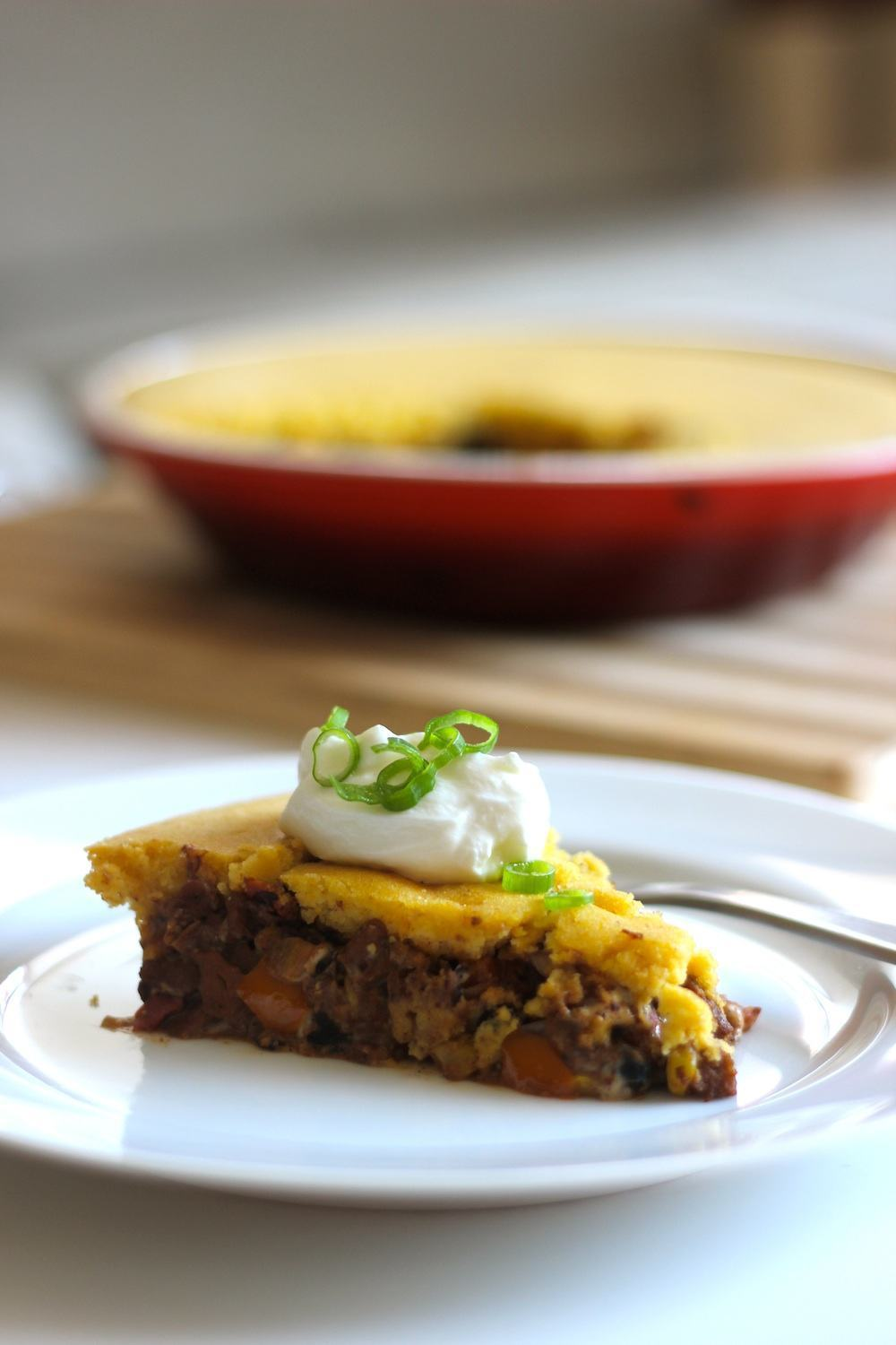 Vegan Black Bean Seitan Tamale Pie site