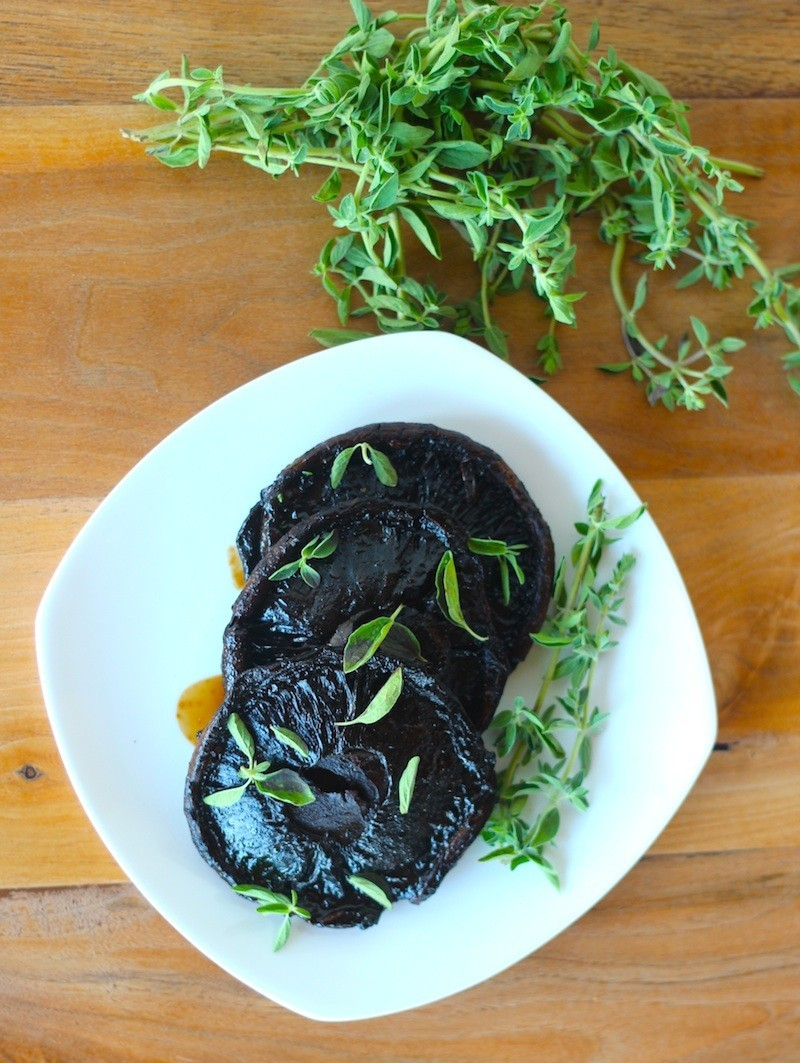 Grilled Portobello Mushrooms Vegan