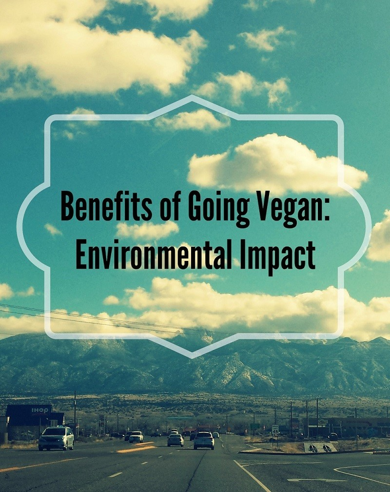 benefits of going vegan ecological footprint