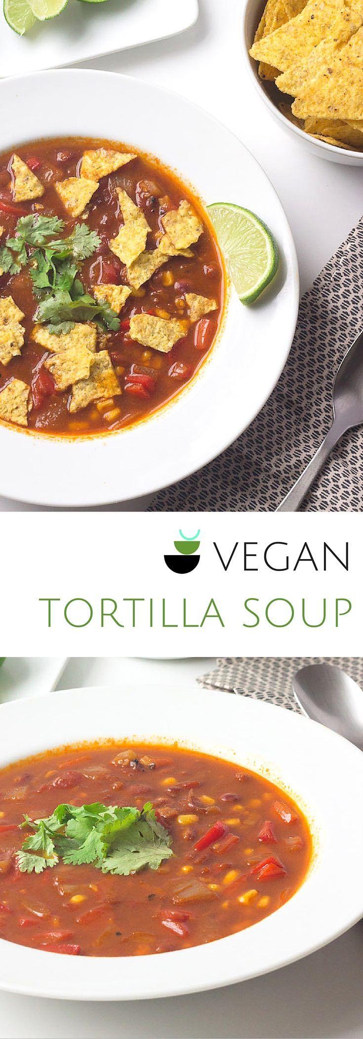 Vegan Tortilla Soup - Prepgreen